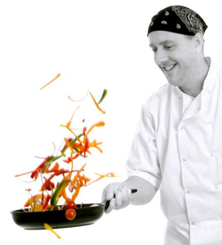 Peter Wilson Wallker, chef form Caterbirds